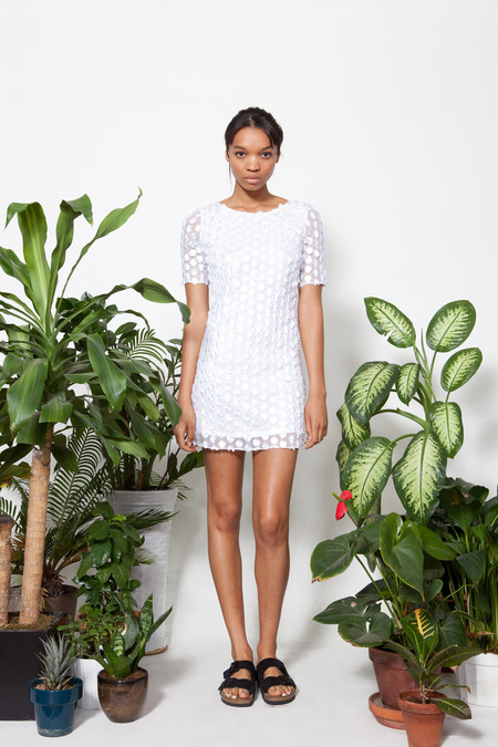 Wren White Dress