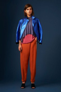 Mixing it up with cobalt blue. - Style.com
