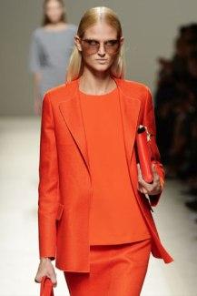 Max Mara's Tangerine. - Style.com