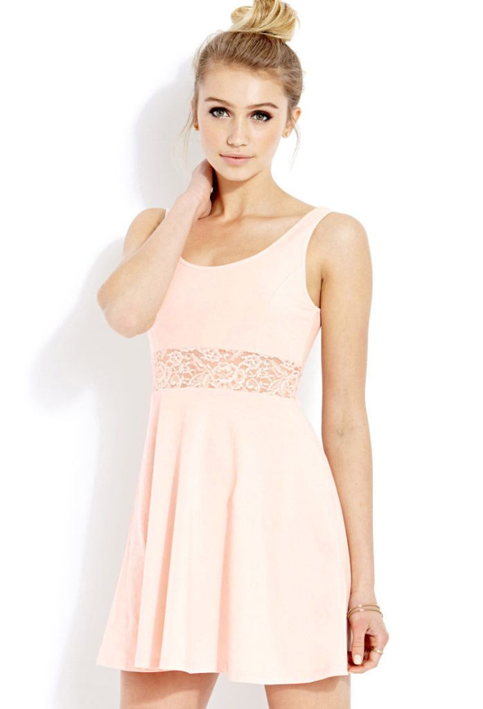 Forever 21: Lady Lace Fit & Flare Dress