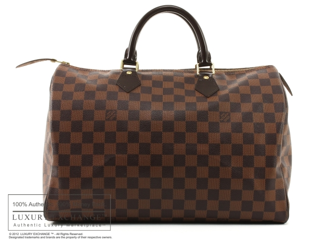 LV SPEEDY 30 Damier Canvas Speedy 30