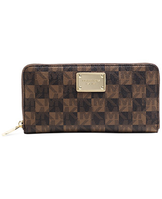 MK Checkerboard Wallet